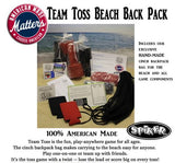 Spiker - Team Toss Beach Back Pack Game