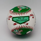 Baby's 1st Christmas Baseball - UR Gifts 4 All Seasons