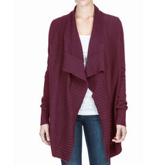 Lilla P Cotton Cashmere Open Cardigan