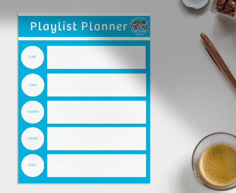 FREE Indoor Cycling Playlist Planner eTemplate