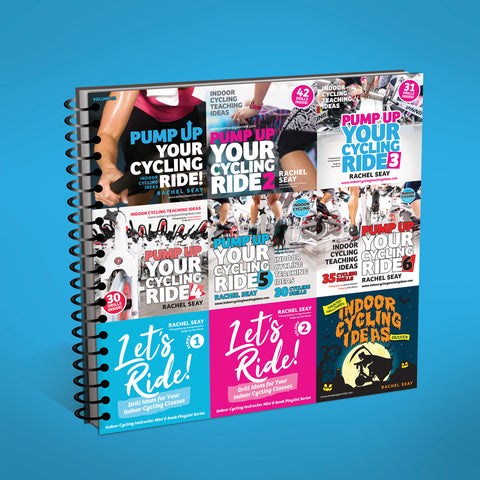 The ULTIMATE Drills Book Bundle for Indoor Cycling Instructors (LIMITED TIME OFFER)