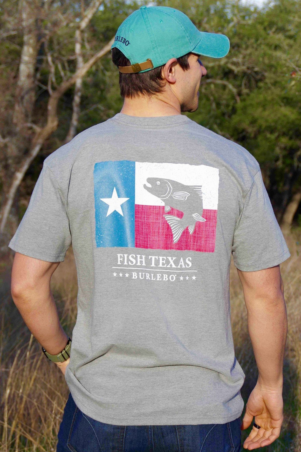 Fish Texas - SS Pocket - BURLEBO