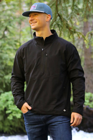 Performance Pullover - Matte Black