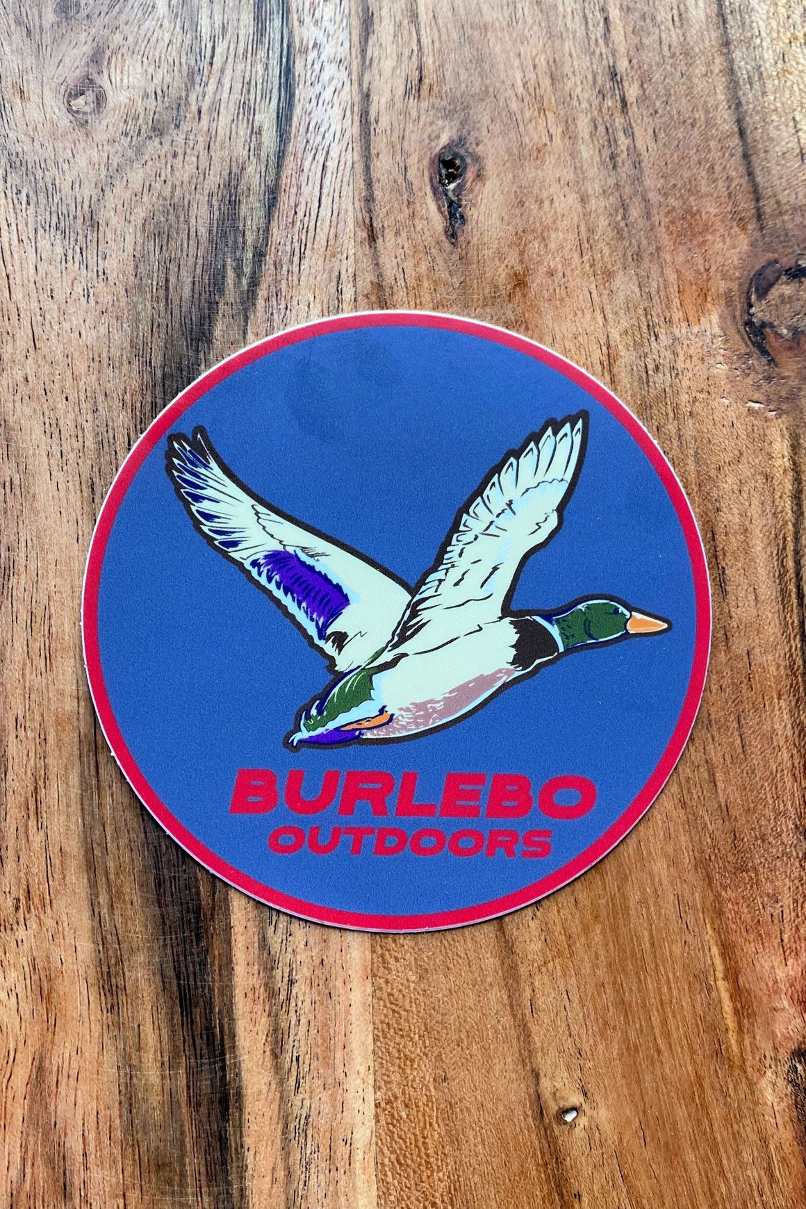 BURLEBO Outdoors Duck - Sticker