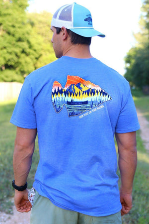 See You on the Water - Flo Blue - SS Pocket - BURLEBO