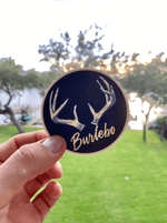 Burlebo Antlers - Sticker