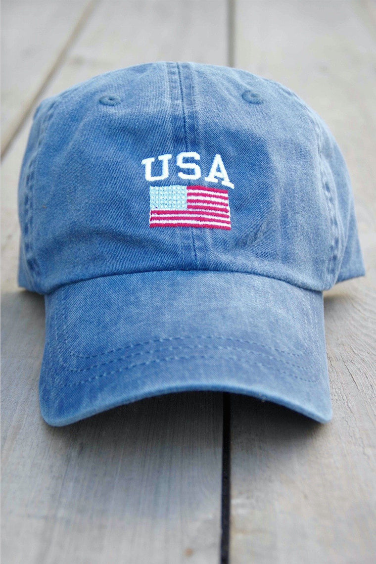 USA Flag - Vintage Navy - BURLEBO