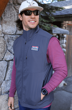 Performance Vest - Charcoal Gray