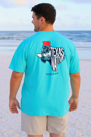 Texas Native - Seafoam - SS Pocket - BURLEBO