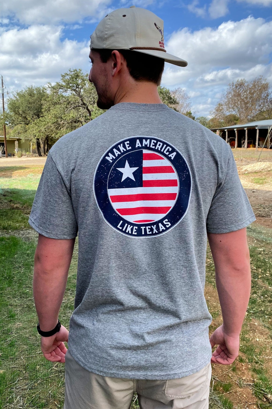 Make America Like Texas - Gray