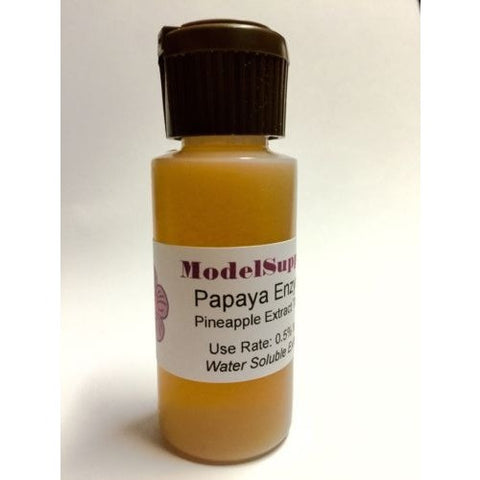 Papaya Enzyme Pineapple Extract Tincture 100% Pure Ing 1 oz Exfoliate Dandruff - ModelSupplies