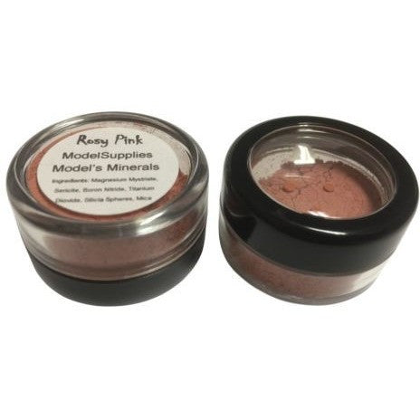 Modelsupplies Model's Minerals Rosy Pink Blush Rouge Makeup NIP