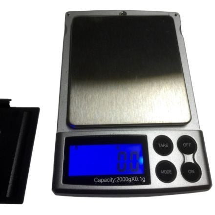 Scale for DIY Skin Care Grams Ounces Tare Feature Stainless Steel Pocket oz gm - ModelSupplies