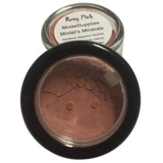 Modelsupplies Model's Minerals Rosy Pink Blush Rouge Makeup NIP - ModelSupplies