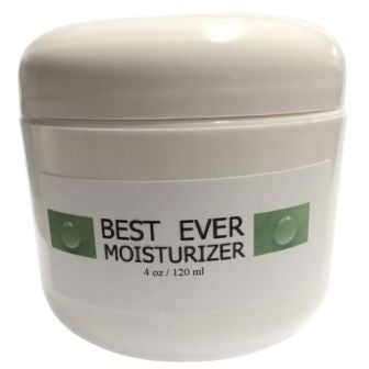 4oz DMAE MSM BestEver Basic Creme Moisturizer Cream Aloe Coconut Meadowfoam Oil - ModelSupplies