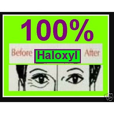 15ml Bottle of 100% Haloxyl ®  Lighten Dark Circles NEW