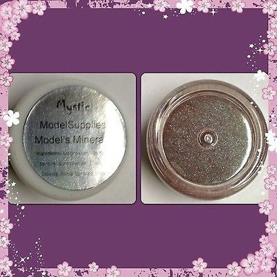 Modelsupplies Model's Minerals Mystic Pearlescent Brown Green Red Eye Shadow Nip - ModelSupplies