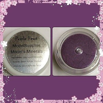Modelsupplies Model's Minerals Purple Heart Mineral Eye Shadow Makeup NIP - ModelSupplies