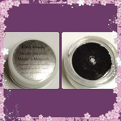 Modelsupplies Model's Mineral Black Beauty Mineral Eye Shadow Makeup NIP - ModelSupplies