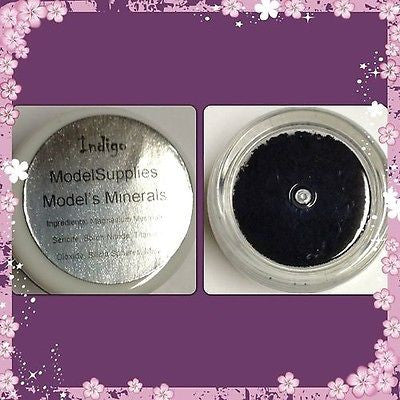 Modelsupplies Model's Minerals Indigo Mineral Eye Shadow Makeup NIP - ModelSupplies