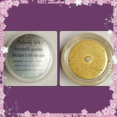 Modelsupplies Model's Minerals Perfectly Gold Eye Shadow Makeup NIP