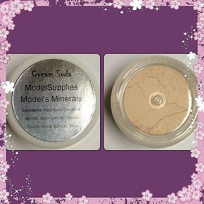 Modelsupplies Model's Minerals Cream Soda Mineral Eye Shadow Makeup NIP
