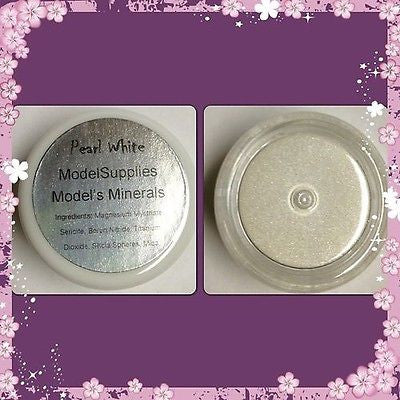 Modelsupplies Model's Minerals Pearl White Eye Shadow Makeup NIP - ModelSupplies