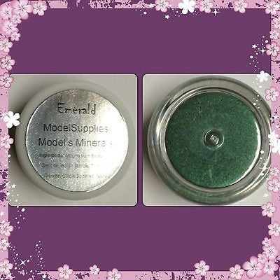 Modelsupplies Model's Minerals Emerald Eye Shadow Makeup NIP - ModelSupplies