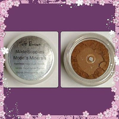 Modelsupplies Model's Minerals Soft Brown Eye Shadow Makeup NIP