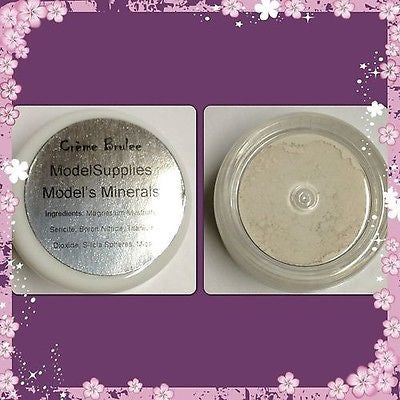 Modelsupplies Model's Minerals Creme Brulee' Mineral Eye Shadow Makeup NIP - ModelSupplies