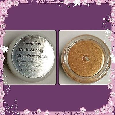 Modelsupplies Model's Minerals Sweet Tea Mineral Eye Shadow Makeup NIP - ModelSupplies