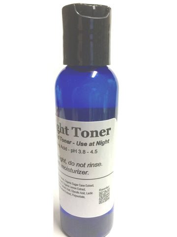AHA Night Toner Exfoliate B4 Nutrients Alphahydroxy Refill Resell Bulk lot 4 oz