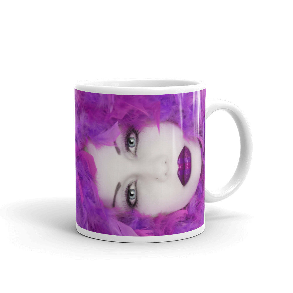 ModelSupplies Purple Power Mug Cup Coffee Cups