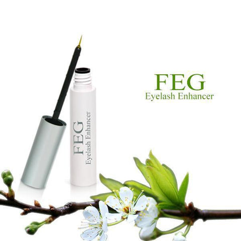 New FEG Chinese Herbal Powerful Makeup Eyelash Growth Treatments Liquid Serum Enhancer Eye Lash Longer Thicker 3ml - ModelSupplies