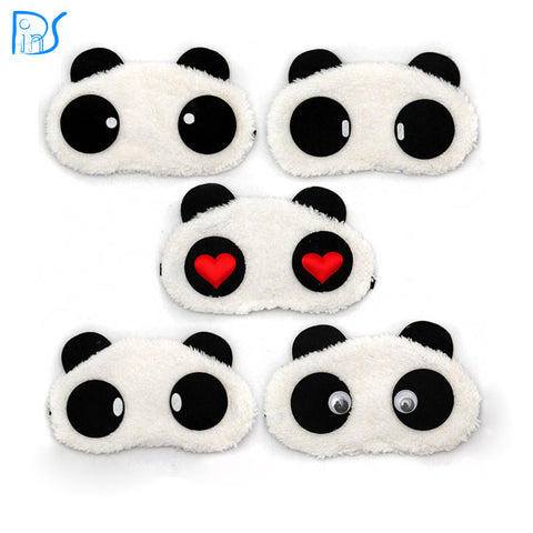 Panda Sleeping Eye Mask Nap Eye Shade Cartoon Blindfold Sleep Eyes Cover Sleeping Travel Rest Patch Blinder - ModelSupplies
