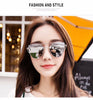 Womens Sunglasses Trendy Cat Eye Fashion Sunglasses Brand Woman Vintage Rose Gold Pink Sun Glasses for Women Shades lunettes - ModelSupplies