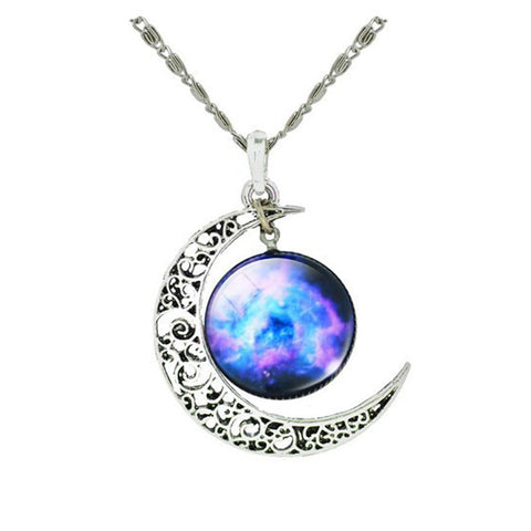 Star Moon Time Pendants Popular Best-selling Men Women - ModelSupplies