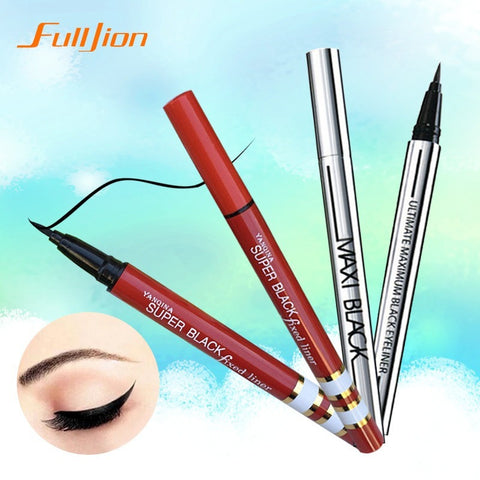 1 X NEWEST Women Ladies Extreme Black Liquid Eyeliner Waterproof Make Up Eye Liner Pencil Pen HOT Makeup Beauty Tool - ModelSupplies