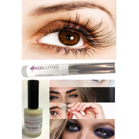 2pc LOT Rapid Brow & BestEver Lashes Shaping Hair Growth Grow Eyebrows Lash Fast - ModelSupplies