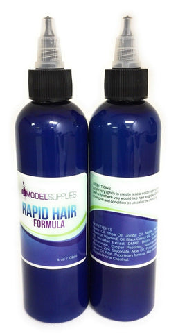 ModelSupplies Rapid Hair Growth Formula Scalp Grows Hair Beards Moustaches 4 oz