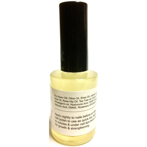 RAPID NAIL GROWTH byModelSupplies Strengthen Grow Nails
