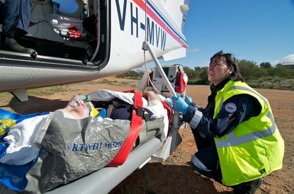 RFDS emergency in the outback