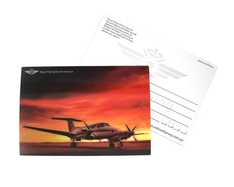 Postcard B200 Sunrise