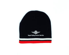 Beanie Navy-Red-White