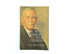 Book - When chairmen were Patriots