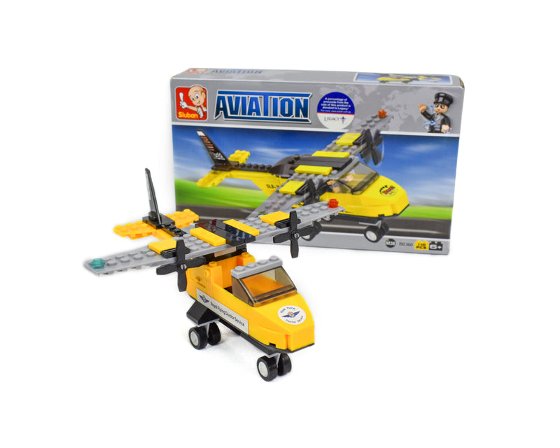Building Block- 110 piece Aircraft