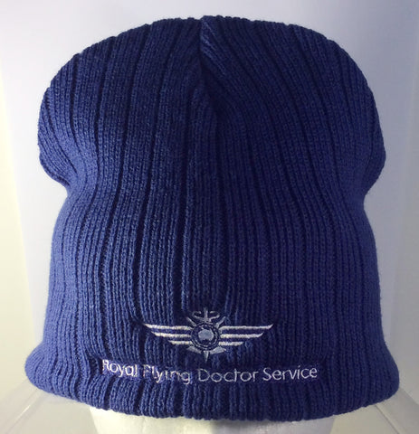 Cable Knit Beanie Royal