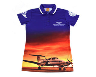 Womens Polo Sunset