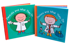 Book- Doctors and Dentists What They Do Readers