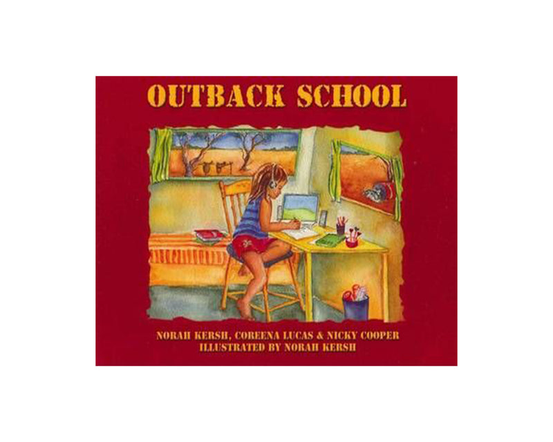 Book- Childrens-Outback School